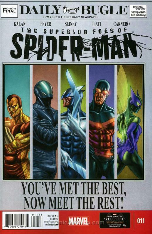 Superior Foes of Spider-Man, The #11 VF/NM; Marvel | save on shipping - details