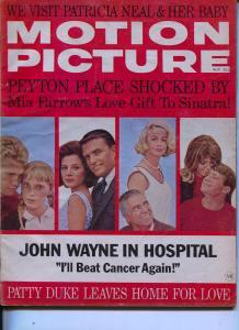 Motion Picture-John Wayne-Peyton Place-Patty Duke-Nov-1965