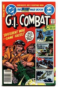 G.I. COMBAT #244-DC WAR-WWII ACTION VF+