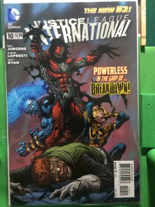 Justice League International #10 The New 52