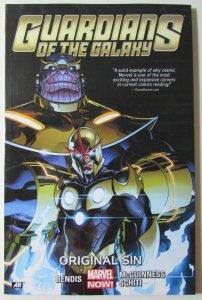 Guardians of the Galaxy Vol. 4 TPB Original Sin NM Marvel Comic Novel