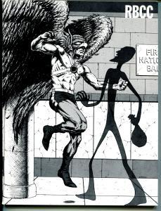 Rockets Blast & Comic Collector #141 1978-Hawkman-Don Rosa art-VF