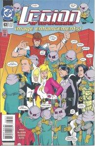 Legion of Super-Heroes #63 (Dec 94) - Saturn Girl, Cosmic Boy, Leviathan, more