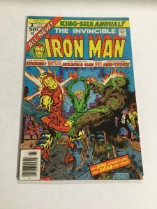 Iron Man King-Size Annual 3 Vg/Fn Very Good/Fine 5.0 Marvel Comics