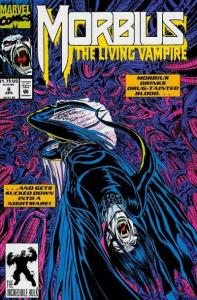 Morbius: The Living Vampire (1992 series) #8, NM- (Stock photo)