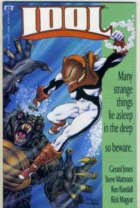 IDOL #1, NM-, Gerard Jones, Epic, 1992 more in store