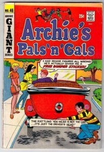 Archie's Pals 'n' Gals # 46 Strict VG+ Affordable-Grade Cover Archie Mobile