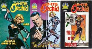 WHITE ORCHID (1996 ATLANTIS) 1-3  the complete series!