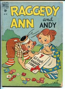 RAGGEDY ANN AND ANDY #262 1949-DELL-FOUR COLOR COMICS-CLASSIC ART-good/vg