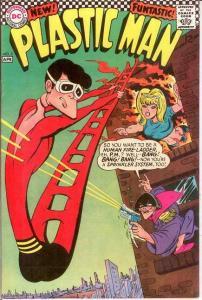 PLASTIC MAN 3 VF+  April 1967 COMICS BOOK