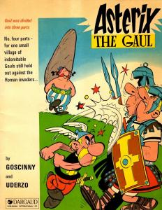 Asterix The Gaul Adventure Roleplaying Game Book Dargaud Publishing J292