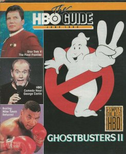 ORIGINAL Jun 1990 HBO Guide Magazine Ghostbusters II Batman Michael Keaton