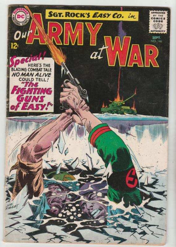 Our Army at War #146 (Sep-64) FN- Mid-Grade Easy Company, Sgt. Rock