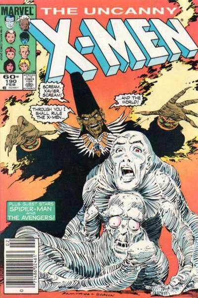 Uncanny X-Men (1981 series) #190, VF+ (Stock photo)