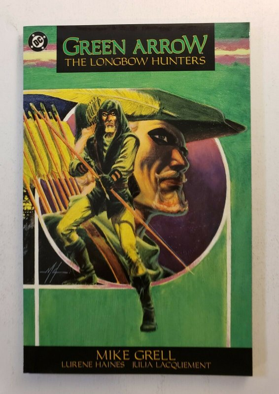 Green Arrow Longbow Hunters TPB Graphic Novel - Mike Grell 1989 NM!