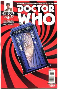 DOCTOR WHO #6 A, NM, 11th, Tardis, 2014, Titan, 1st, more DW in store, Sci-fi