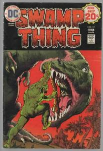 SWAMP THING 12 VG-F Oct. 1974