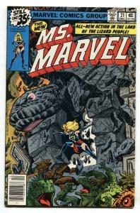 MS. MARVEL #21 1978-HIGH GRADE-New costume issue