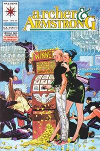 Archer & Armstrong (1992 series) #16, VF+ (Stock photo)