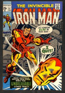 Iron Man #21 FN- 5.5 Marvel Comics