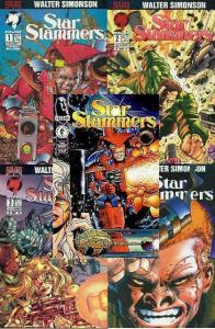STAR SLAMMERS (1994-96 MA/BRA/DH) 1-4,Special COMPLETE+