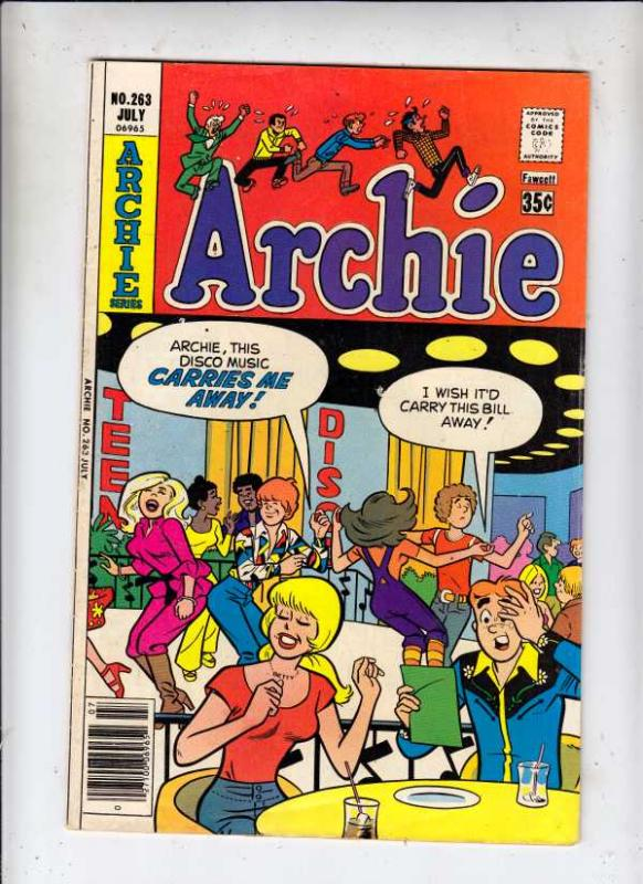Archie #263 (Jul-77) VF High-Grade Archie