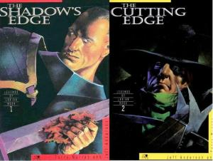 SHADOWS EDGE / CUTTING EDGE LEGENDS OF LARIAN  1-2 COMICS BOOK