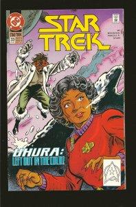 DC Comics Star Trek Uhura No 33 July 1992