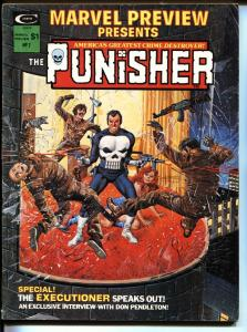 MARVEL PREVIEW #2 1975-THE PUNISHER-Origin-GRAY MORROW