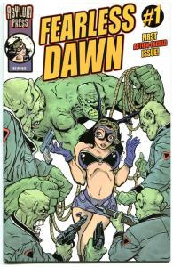 FEARLESS DAWN #1,  VF, Steve Mannion, 2009, Femme Fatale, more in store