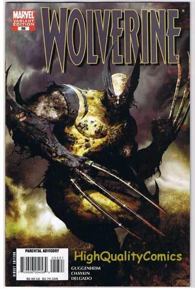 WOLVERINE #58, VF/NM, Howard Chaykin, Marvel Zombies, Variant,2003,more in store