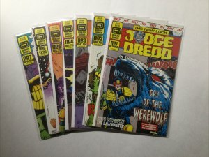 Judge Dredd 1 2 3 4 5 6 7 Lot Run Set Nm- Near Mint- 9.2 Quality Comics