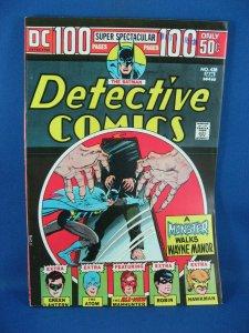 Detective Comics #438 (Dec 1973-Jan 1974, DC) VF NM 100 Pages
