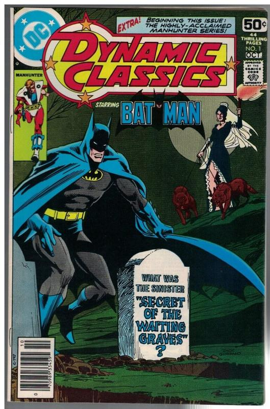 DYNAMIC CLASSICS (1978) 1 FN Adams, Simonson  Batman
