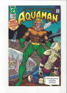 Auqaman # 1(1991) DC Comics NM