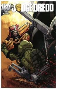JUDGE DREDD #2 A, NM-, IDW,  2012, Sci-fi, Police, I am the Law, more in store