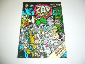 Zap Comix #5 VF/NM (5th) print - s. clay wilson ROBERT CRUMB gilbert shelton