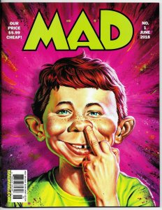 Mad Magazine #1 Star Wars | Spy vs Spy | Archie (DC, 2018) VF/NM