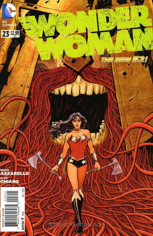 Wonder Woman (4th Series) #23 VF/NM; DC | save on shipping - details inside