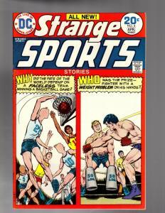 STRANGE SPORTS STORIES 4  FINE-VERY FINE April 1974