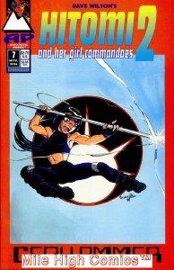 HITOMI & HER GIRL COMMANDOES 2 (1993 Series) #7 Very Fine Comics Book