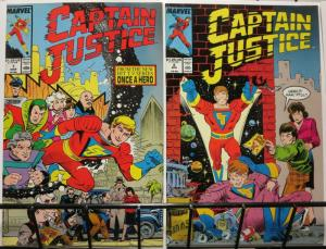 CAPTAIN JUSTICE 1-2 Toy & TV show (1988)