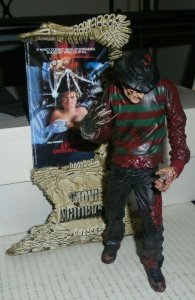 Freddy Krueger Movie Maniacs 4 2001 McFarlane Toys