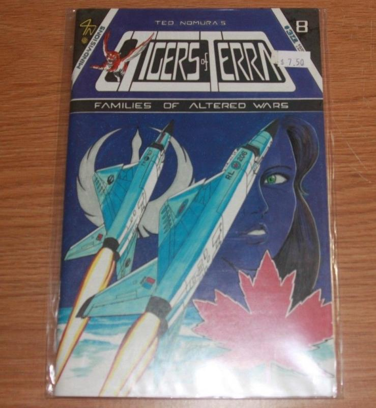 tigers of terra comic # 8 1986  mind visions manga anime  families of alt WAR