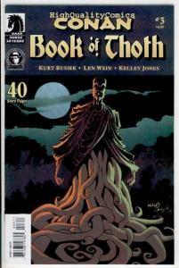 CONAN ; BOOK of THOTH #3, NM, Kurt Busiek, Kelley Jones, Robert E Howard