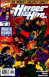 HEROES FOR HIRE (1997 MARVEL) #5 NM- AGSQ88