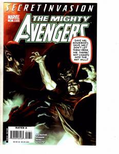 Lot Of 5 Mighty Avengers Marvel Comic Books # 17 18 19 20 21 Hulk Thor Wasp J47