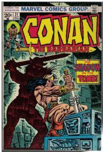 CONAN THE BARBARIAN 31 FN+  Oct. 1973