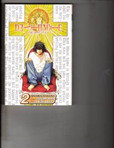 Death Note Vol. # 2 Shonen Jump Advanced Viz Media Manga Comic Book Anime AB1