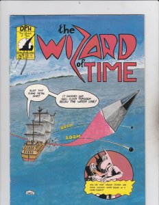 David House! The Wizard Of Time! Issue 3!